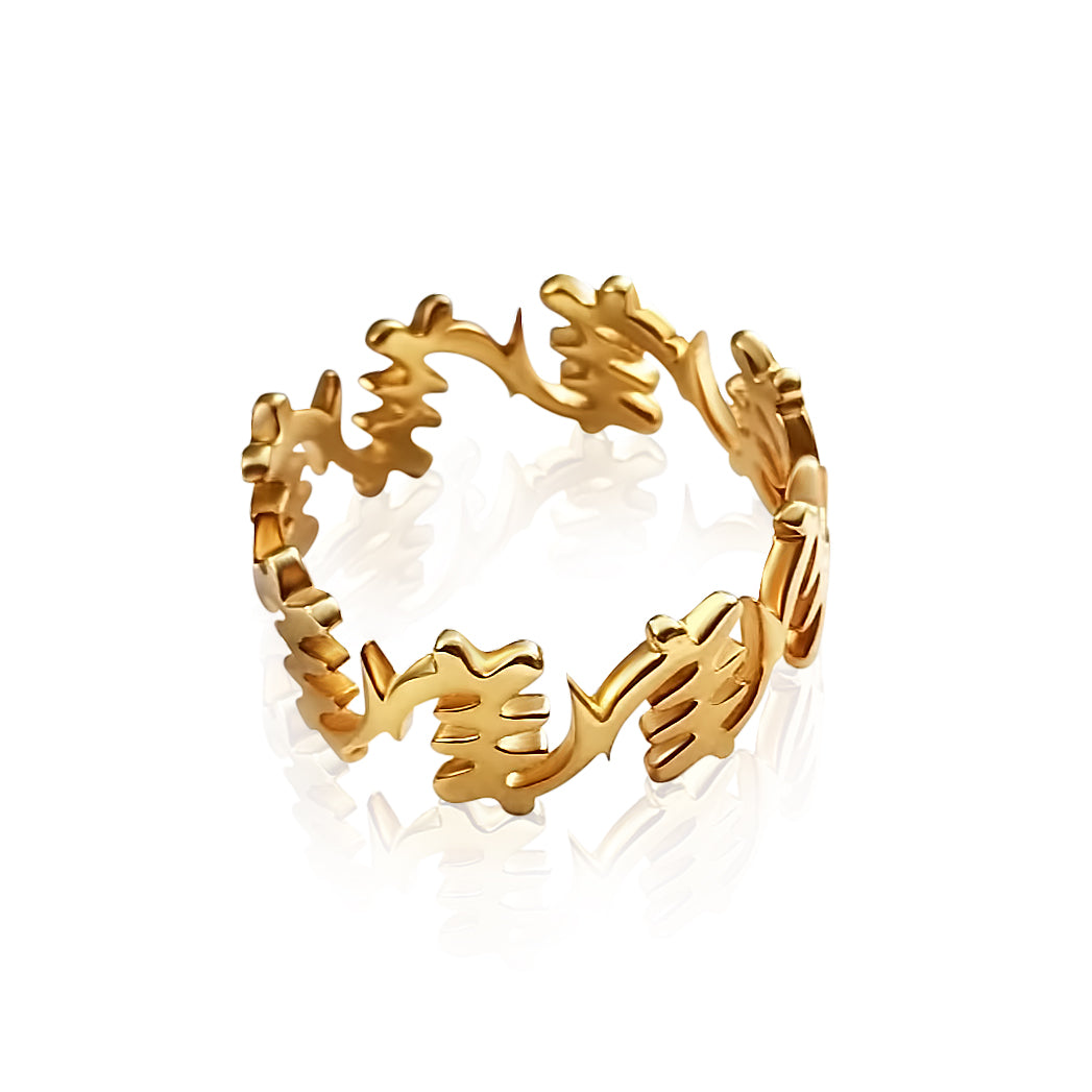 Fearless II Ring - Lonam Jewellery