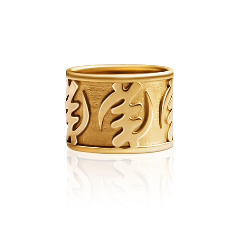 Fearless III Ring - Gold - Lonam Jewellery