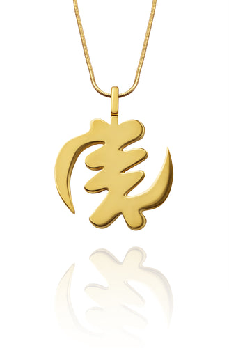 Fearless Pendant - Gold - Lonam Jewellery