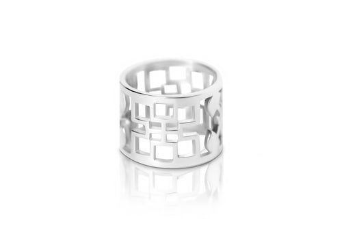 Signature Ring - Silver - Lonam Jewellery