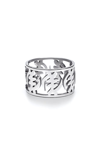 Fearless Ring - Silver - Lonam Jewellery