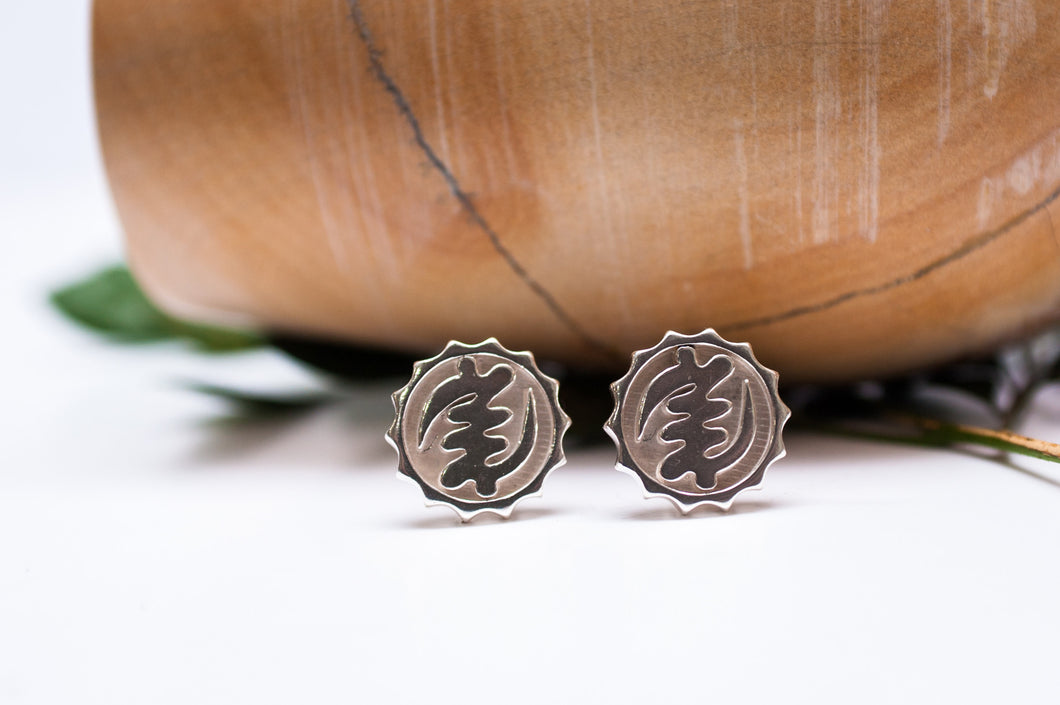 Royalty Cufflinks  - Silver - Lonam Jewellery