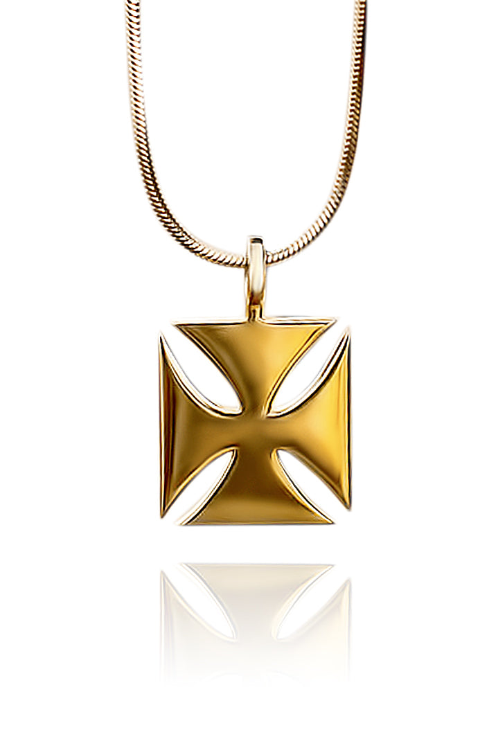 Guardian Pendant - Gold - Lonam Jewellery
