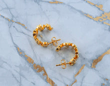 Fearless Hoop Earrings - Gold - Lonam Jewellery