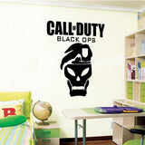 Call of Duty Black Ops - Wall Decal Art Sticker boy's bedroom playroom hall (Color: Black Size: Large) - MyMonkeySticker.com