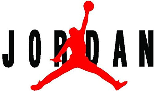 AIR Jordan Flight Jumpman Logo Huge Vinyl Decal Sticker for Wall Car Room Windows - MyMonkeySticker.com