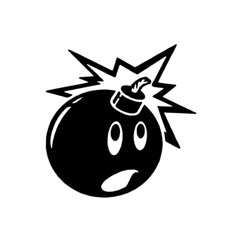 Adam Bomb Vinyl Sticker