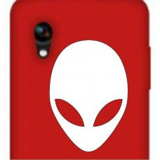 Alien Face Car Window Ipad Tableet PC Notebook Cumputer Decal Sticker - MyMonkeySticker.com