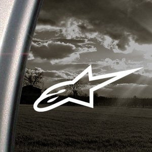 Alpinestars Decal Alpine Star Truck Car Window Sticker - MyMonkeySticker.com