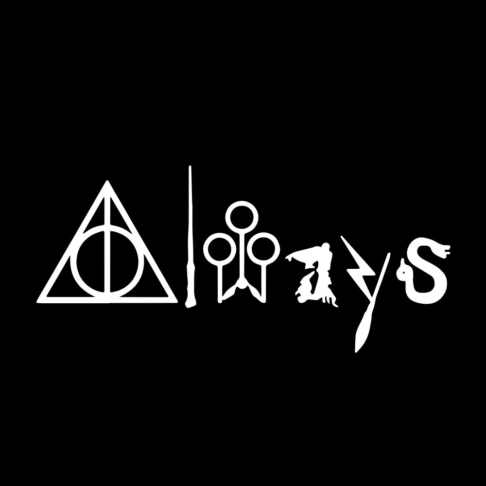 Always Harry Potter Stickers