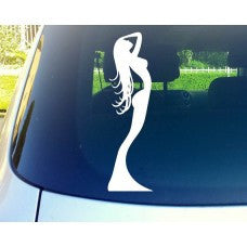 Ambiance Sexy Woman Car Window Vinyl Decal Tablet PC Sticker - MyMonkeySticker.com