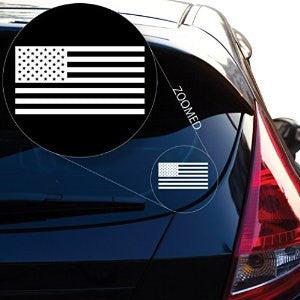 American Flag United States Decal Sticker for Car Window - MyMonkeySticker.com