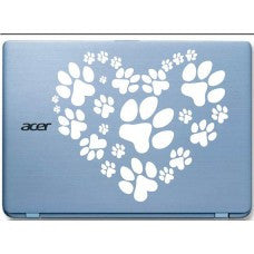 Animal Footprint Automobile Car Window Decal Tablet PC Sticker Automobile Window Wall iphone Laptop Notebook Ipad macbook pro apple Etc. - MyMonkeySticker.com
