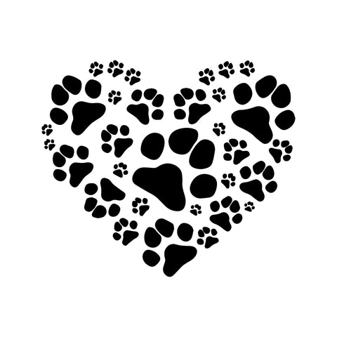 Animal Footprints Decal