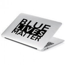 BLUE Lives Matter Vinyl Decal Sticker car wall - MyMonkeySticker.com