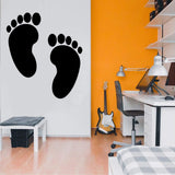 Bare Feet Decals
