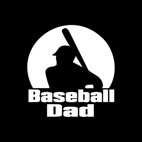 Baseball Dad Decal