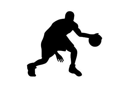 Basketball Guy 2  Vinyl Car/Laptop/Window/Wall Decal - MyMonkeySticker.com