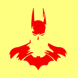Batman Black and White Decal