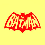 Batman Logo Outline Decal