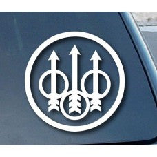 Beretta Firearms Automobile Car Window Decal Tablet PC Sticker Automobile Window Wall iphone Laptop Notebook Ipad macbook pro apple Etc. - MyMonkeySticker.com