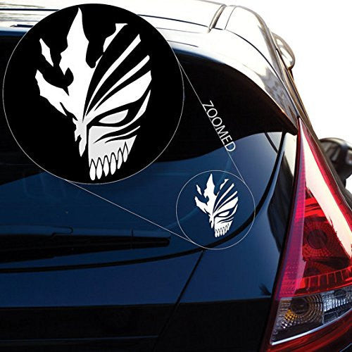 Bleach Ichigo Kurosaki Hollow Mask Sticker Decal for Car Laptop Wall - MyMonkeySticker.com