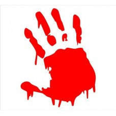 Bloody Zombie Hand Car Window Vinyl Decal Tablet PC Sticker - MyMonkeySticker.com