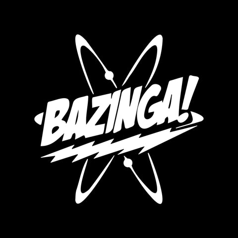 Bubbles Bazinga Decal Sticker