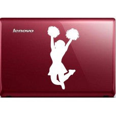 CHEERLEADER Automobile Decal Car Window Decal Tablet PC Computer Automobile Window Wall Laptop Notebook Ipad cell phone - MyMonkeySticker.com