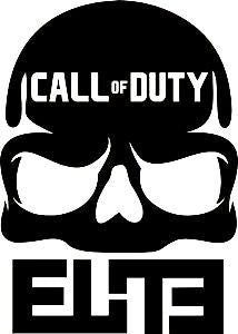 Call Of Duty Elite Xbox 360 One  Vinyl Car/Laptop/Window/Wall Decal - MyMonkeySticker.com