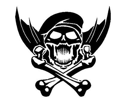 Call Of Duty Skull Crossbones Xbox 360 One Vinyl Car/Laptop/Window/Wall Decal - MyMonkeySticker.com