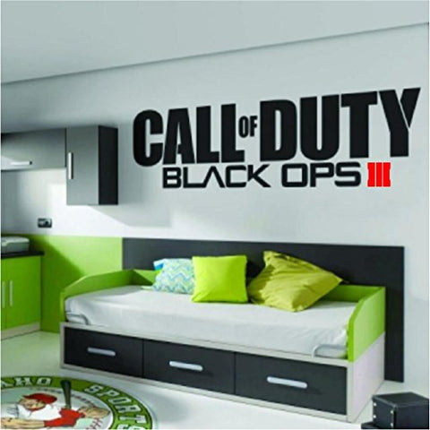 Call of Duty Black Ops 3 III Sticker Decal Wall Room Xbox One 360 Ps4 Ps3, Wii, Psp, Video Game - MyMonkeySticker.com