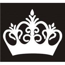 Crown - Princess Crown Car Window Decal Tablet PC Sticker Automobile Window Wall iphone Laptop Notebook Ipad macbook pro apple Etc. - MyMonkeySticker.com