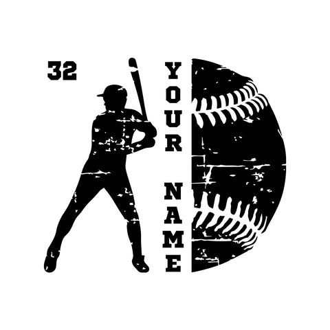 Custom Baseball Cleats Bat Png Vinyl Decal Wall Window Car Laptop Sticker