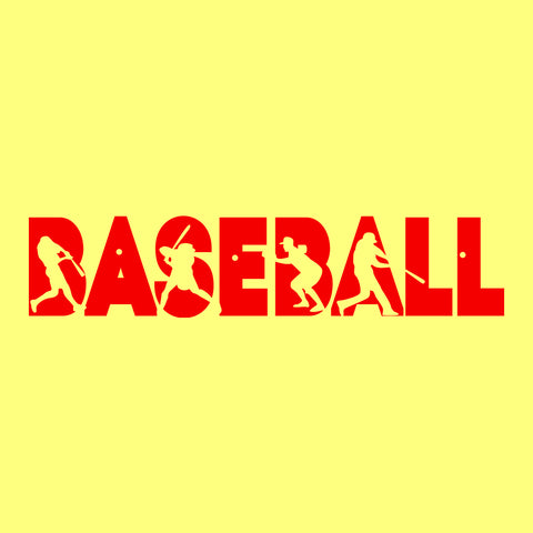 Custom Baseball Clipart Png Vinyl Decal Car Window Wall Laptop Sticker