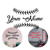 Custom Baseball Wall Decoration Vinyl Decal