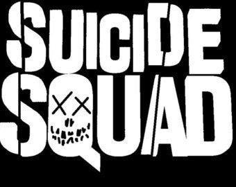 Suicide Squad Batman Harley Quinn  Vinyl Car/Laptop/Window/Wall Decal - MyMonkeySticker.com