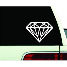 Diamond Jewel Bling Vinyl Sticker Car Wall Window Decal Jewel Bling Love Pretty Laptop - MyMonkeySticker.com