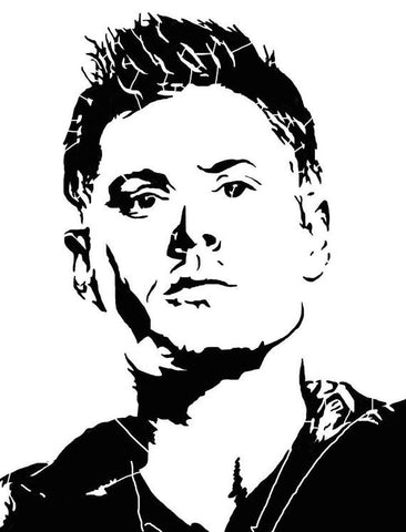 Dim Face Supernatural winchester Vinyl Decal Sticker catholic for Car Laptop MacBook Wall  Preguntar $3.50 - MyMonkeySticker.com