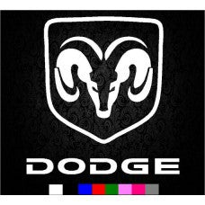 Dodge Ram Logo 1500 2500 3500 F150 F250 Vinyl Decal Sticker Vinyl - MyMonkeySticker.com