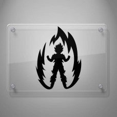 Dragon Ball Goku Super Saiyan Vinyl Decal Sticker car wall - MyMonkeySticker.com