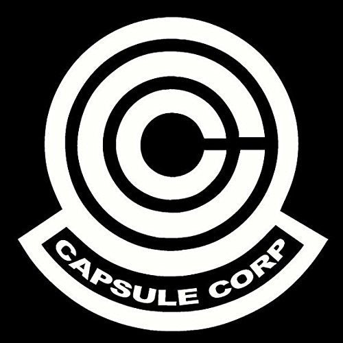 Dragon Ball Z Capsule Corp Decal Sticker for Room Car Window Laptop - MyMonkeySticker.com