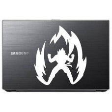 Dragon Ball Z Super Saiyan Goku Anime Automobile Car Window Decal Tablet Sticker Window Wall iphone Laptop Notebook Ipad macbook pro apple - MyMonkeySticker.com