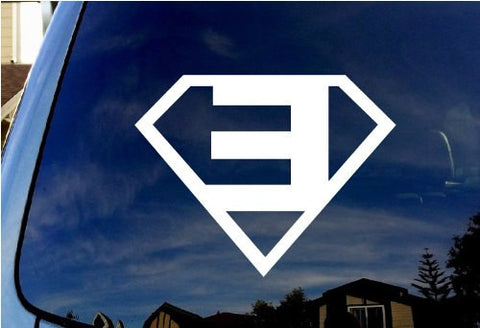 Eminem Superman CRIS Music Rapper Music Adhesive Decal Sticker Vinyl Decorative for Wall Car Auto Ipad Macbook Laptop - MyMonkeySticker.com