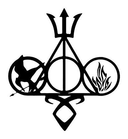 Fandom Harry Potter  Vinyl Car/Laptop/Window/Wall Decal - MyMonkeySticker.com