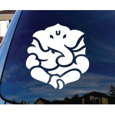Ganesh Yoga Hindu Car Window Ipad Tableet PC Notebook Cumputer Decal Sticker - MyMonkeySticker.com
