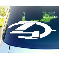 Halo 4 Car Window Ipad Tableet PC Notebook Cumputer Decal Sticker - MyMonkeySticker.com