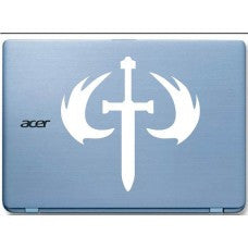 Halo Emblem Car Window Ipad Tableet PC Notebook Cumputer Decal Sticker - MyMonkeySticker.com
