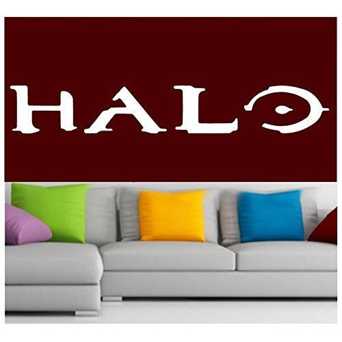 Halo Logo Decal Sticker Vinyl for Window Wall video Game Laptop Console Xbox 360 - MyMonkeySticker.com