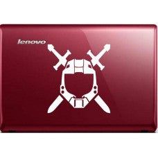 Halo Spartan Helmet xBox Car Window Ipad Tableet PC Notebook Cumputer Decal Sticker - MyMonkeySticker.com